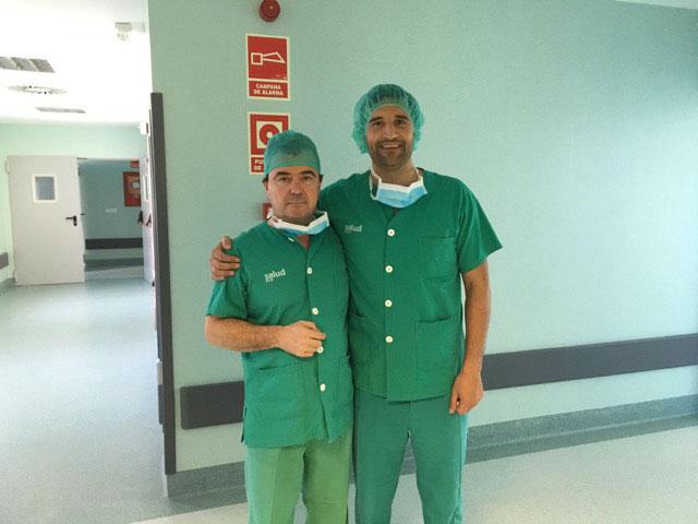 Jornada implante protesis pene en Zaragoza. Dr Rodríguez Vela y Dr Romero Otero