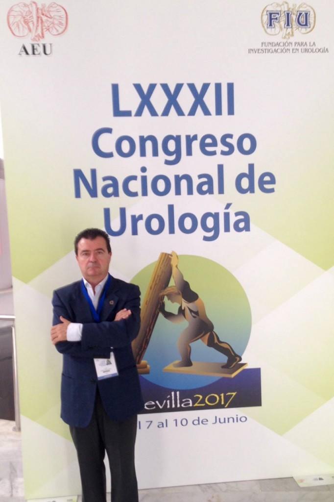 Dr Rodriguez Vela en el Congreso Nacional de Urología